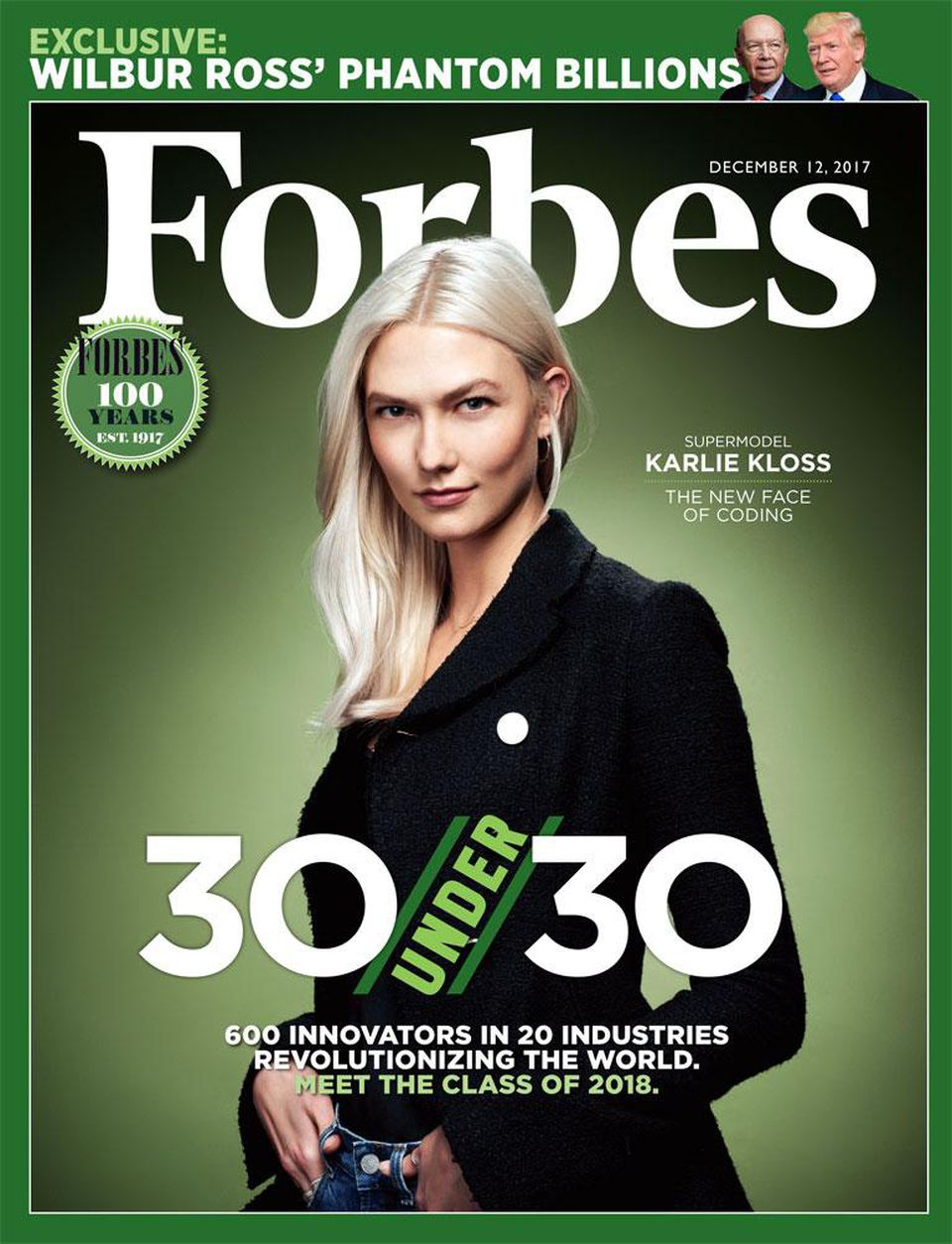 Forbes Magazine 30 Under 30
